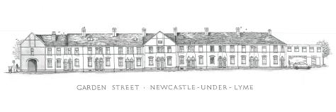 Garden Street, East facing elevation