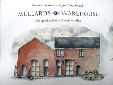 Mellards Warehouse Side elevation
