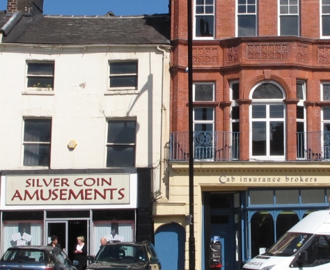 Silver Coin, Market Place, Burslem