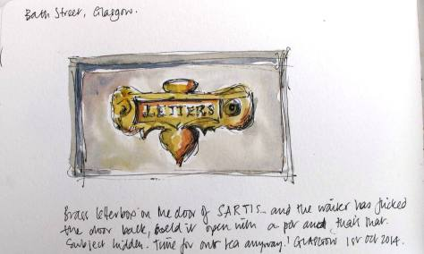 Letterbox drawing