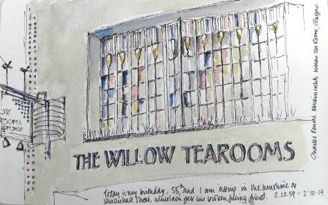 Willow tea Rooms Glasgow
