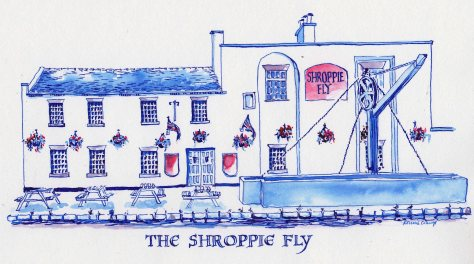 Shroppie fly pub