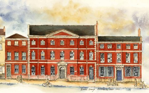 grade 1 Micklegate house drawing
