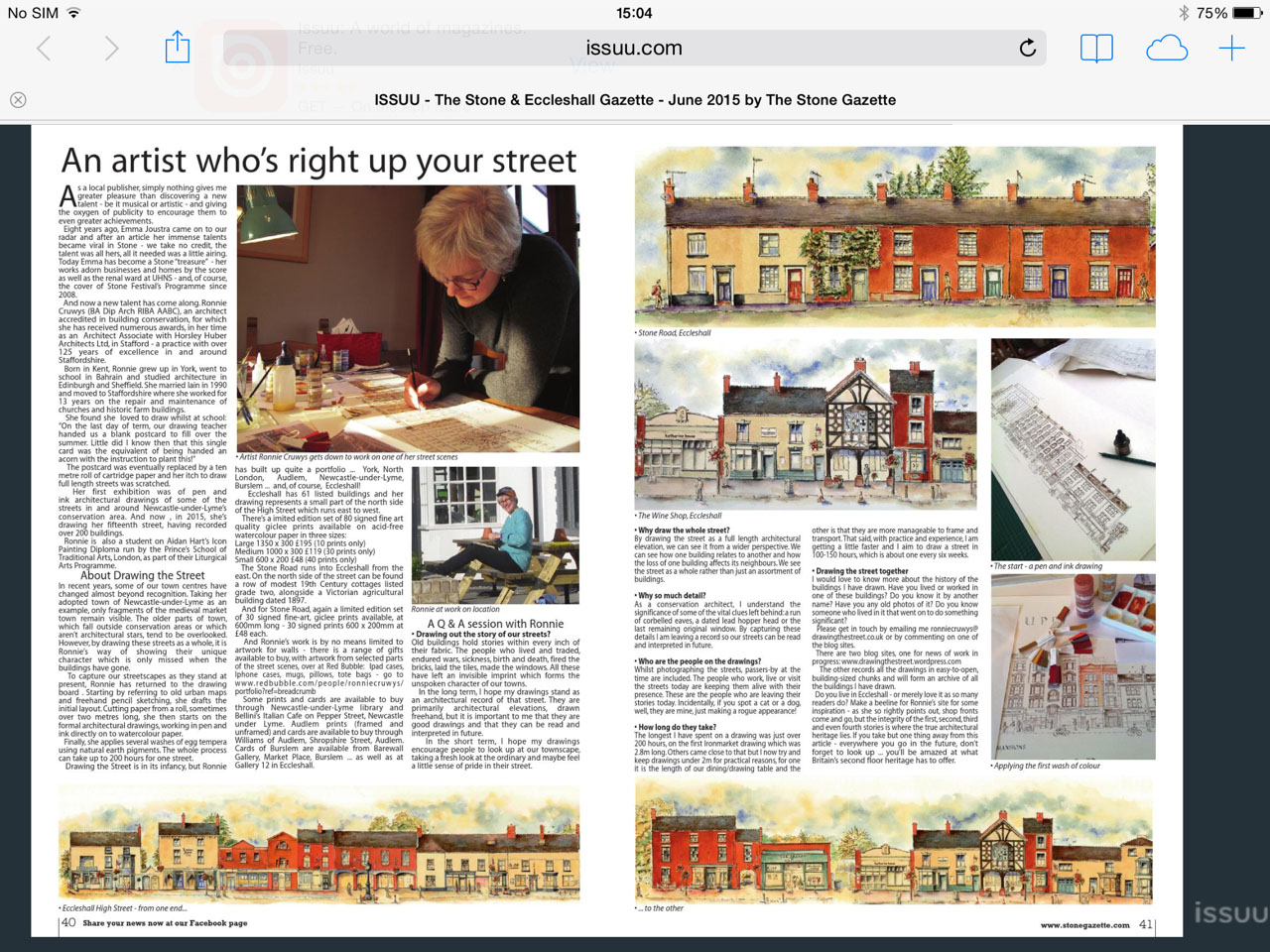 stone and eccleshall gazette