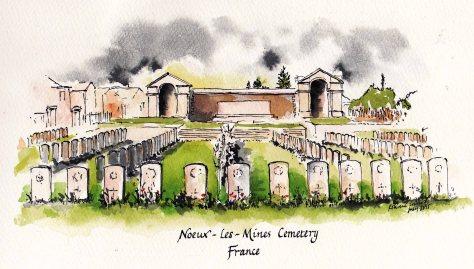 Nouex les mines cemetery