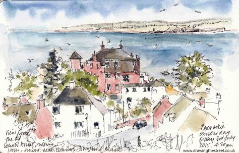 sketch of Moray Firth