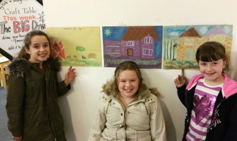 kids paintings for the Big Draw