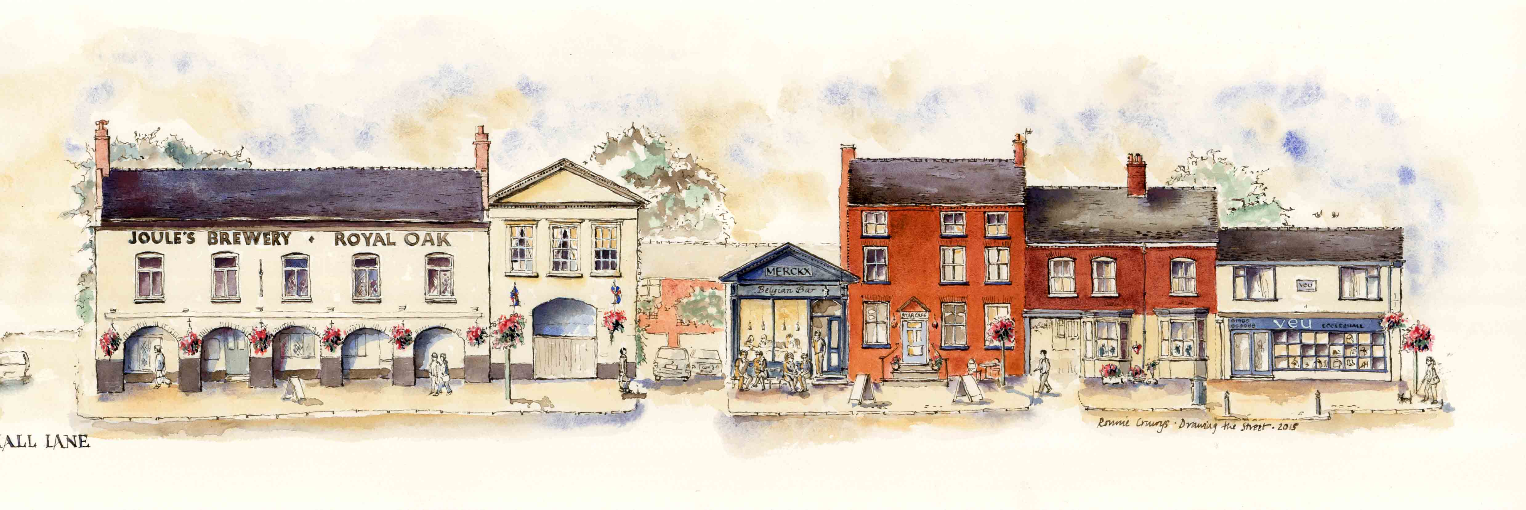 high St Eccleshall drawing