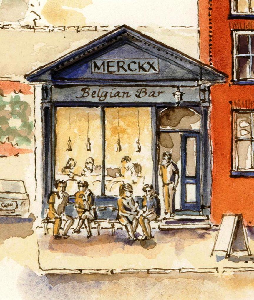 Merckx Belgian bar Eccleshall