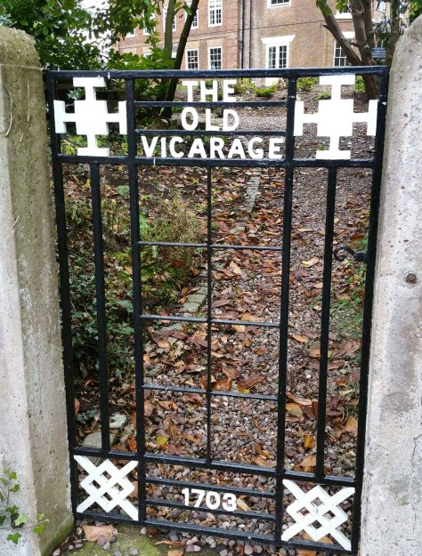 gate to old vicarage eccleshall