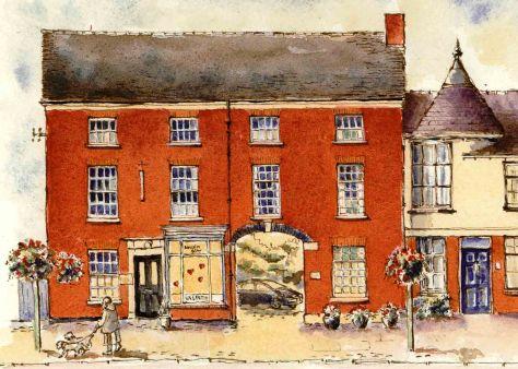 Eccleshall high Street artwork