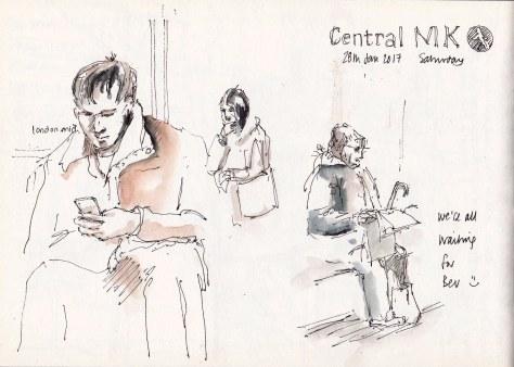 sketches Milton Keynes