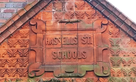 Victorian terracotta tiles, Newcastle under Lyme