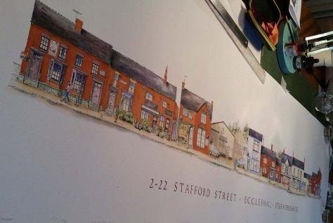Stafford street Eccleshall