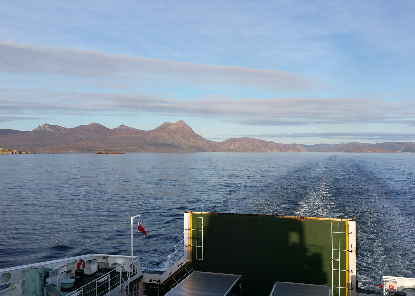 3 Ullapool to Stornaway ferry