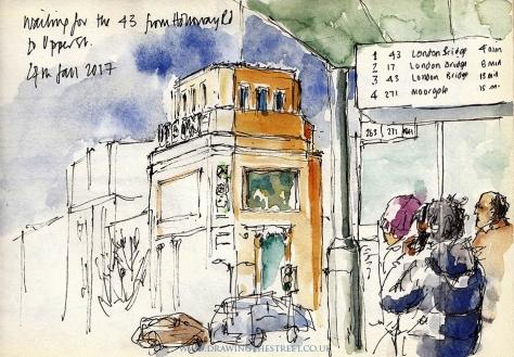 43 Bus Holloway Road Ronnie Cruwys