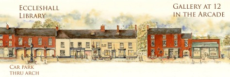 eccleshall High Street Exhibition Together by Ronnie Cruwys