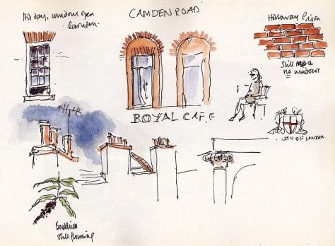 royal cafe camden