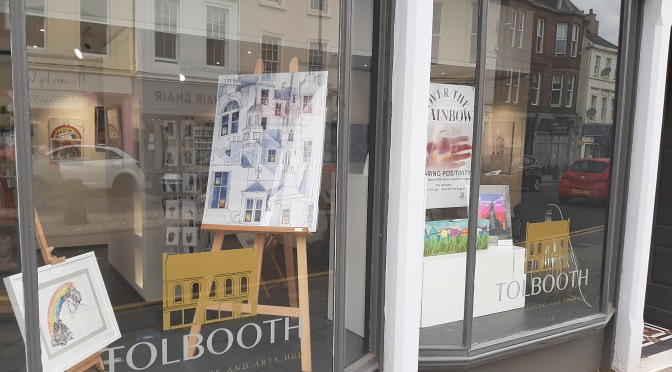 Open doors at the Tolbooth Lanark