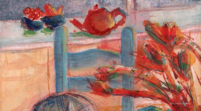 Kitchen table: Tea Pot, Burleighware and Josh 3/3